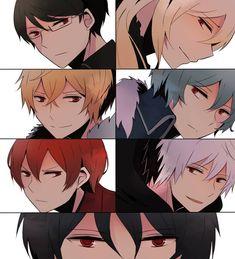 Pick one ^q^ Cartoon Fan, Manhwa Manga, Pick One, Webtoon, Fan Art, Cute, Carnation, Anime Stuff, Fictional Characters