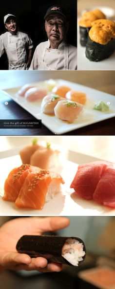 SugarFish by Sushi Nozawa has multiple locations in Los Angeles and one has to be walking distance away from Joes Auto Parking Lots 754 and and 737. If you want dishes that concentrate on pure ingredients  and are handled with care, than this place has it all. #JoesKnowsFood
