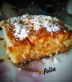 Apple Cake Recipes, Cookie Recipes, Dessert Recipes, Greek Sweets, Greek Desserts, Greek Cake, Sweet Pie, Pastry Cake, Sweet And Salty