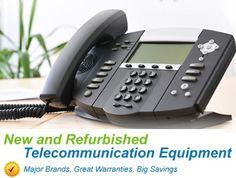 Sell used telephone equipment