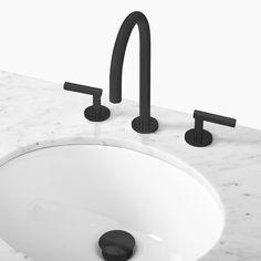Adan Bathroom Faucet, Dark Bronze | West Elm