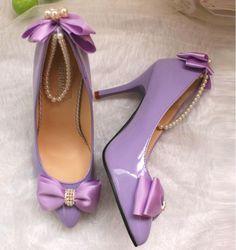 Image result for lavender pointed toe pumps