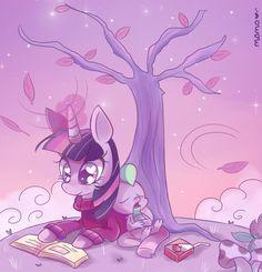 spike and twilight sparkle drawn by fumuu - Bronibooru My Little Pony Twilight, Mlp My Little Pony, My Little Pony Friendship, My Little Pony Stickers, Princess Twilight Sparkle, Mlp Pony, Equestria Girls, Worlds Of Fun, New Art