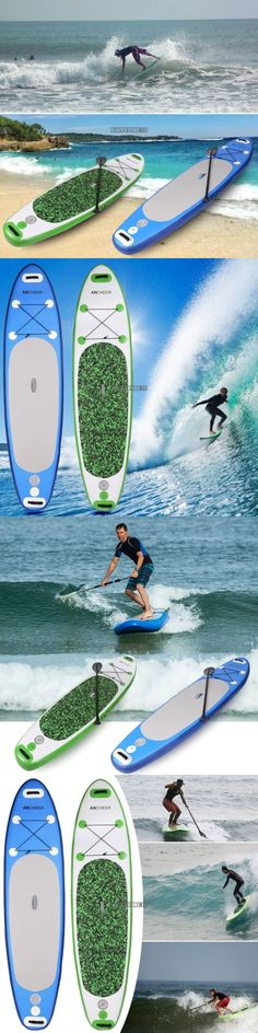 Stand Up Paddleboards 177504: 10 Foot Inflatable Stand Up Paddle Board Paddleboard Surfing Popular# BUY IT NOW ONLY: $285.48