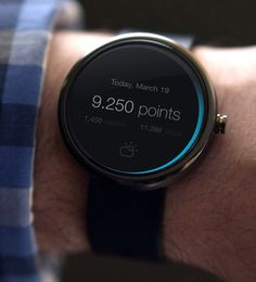 Android Wear: Fitness Concept #wearable #smart #watch #mobile #ui #ux #design via http://pinterest.com/alextcsung/