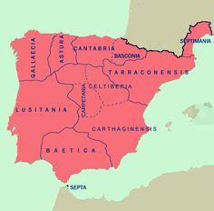 Hispania visigótica hacia el año 700, antes de la conquista musulmana de la península ibérica / La conquista del reino visigodo por dirigentes musulmanes del Califato Omeya fue un proceso que duró quince años, del 711 al 726. A falta de la región entre Asturias y Cantabria, del mar a los picos de Europa / Por Wikimedia