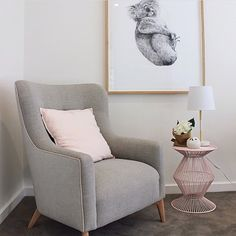 What an adorable corner from our friends Forman Picture Frames 💙 Eadie www.eadielifestyle.com.au