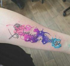 Kpop Tattoos, Army Tattoos, Mini Tattoos, Body Art Tattoos, Pretty Tattoos, Beautiful Tattoos, Doodle Tattoo, Get A Tattoo, Piercing Tattoo