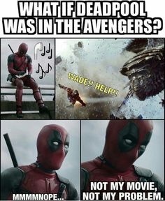 Marvel characters Deadpool and Thanos couldn't be less alike – which is probably why together they make for comedy gold, as these memes prove. Deadpool Funny, Funny Marvel Memes, Dc Memes, Marvel Jokes, Avengers Memes, Marvel Dc Comics, Funny Comics, Funny Memes, Deadpool Facts