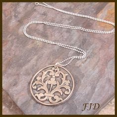 Bronze and Sterling Silver Necklace