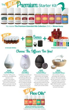 The Young Living Premium Starter Kit - FREE welcome gifts from me! :)
