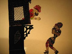 Istambul Agora para crianças: Hacivat e Karagöz, cujo nome designa em turco a técnica de manipulação de bonecos com varas e jogos de luz (Foto: Divulgação)