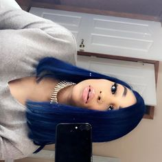 Blue Wigs Lace Hair Lace Frontal Wigs Teal Hair Wild African Wigs 12 I – eggplantral Weave Hairstyles, Pretty Hairstyles, Straight Hairstyles, Natural Hair Styles, Short Hair Styles, Blue Wig, Teal Hair, Hair Laid, Lace Hair