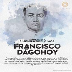 Francisco Dagohoy led the longest Filipino uprising against the Spanish in 1744 to Pinoy, Revolutionaries, Filipino, Philippines, Movie Posters, Flag, Template, Design, Film Poster