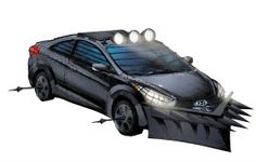 Hyundai 'Zombie Survival Machine' is Ready to Ride Among the Undead  Hyundai Teams with creator of The Walking Dead for a one-off vehicle and promotion.