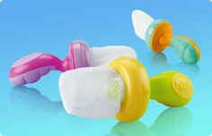 Nibbler, perfect for first fruits and veggies #nuby #weaning