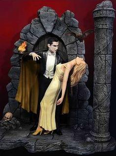 Bela Lugosi as Dracula Deluxe Model Kit