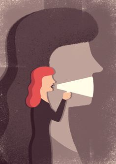 Freedom of speech - Editorial Illustrations 2015 - Vol. 2 on Behance