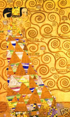 nobody better with pattern, Klimt