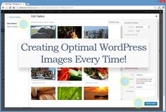 Creating Optimal WordPress Images Every Time