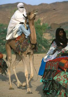 People of Niger, North Africa