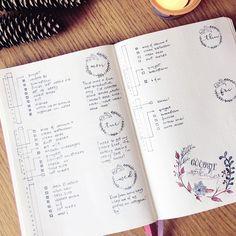 daily notes bullet journal {rozmakesplans}