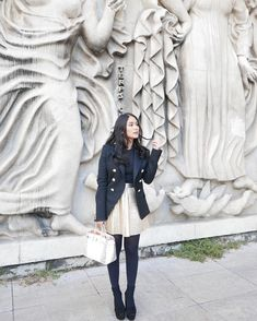 Heart Evangelista Is Having The Most Stylish Parisian Holiday - Star Style PH Star Fashion, Paris Fashion, Fashion Outfits, Blazer Outfits, Winter Outfits, Spring Outfits, Heart Evangelista Style, Classy Street Style, Classic Outfits