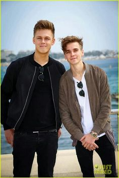 Caspar Lee and Joe Sugg