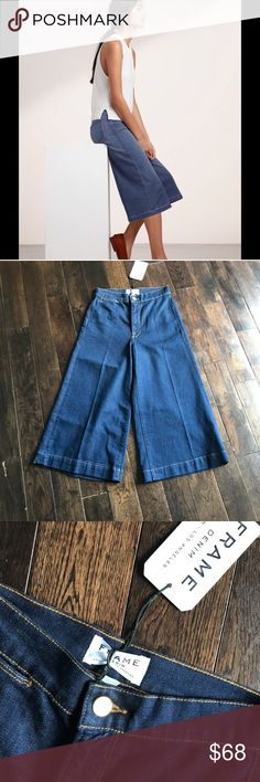 NWT FRAME DENIM Le Gaucho Lorna Jeans 25 - OFFER New with tags Frame Denim Le Gaucho Lorna  Size 24 Frame Denim Jeans
