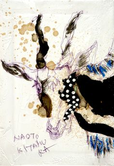 naoto kitamura 10274 大事にされない私はいつも ヤギ Textile Fiber Art, Textile Artists, Art And Illustration, Goat Art, Call Art, Pictures To Draw, Portraits, Japanese Art, Lovers Art
