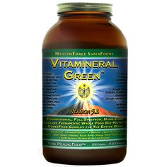 Vitamineral Green 500 grams - this stuff is amazing. After taking it you feel like you've had a shot of wheatgrass!