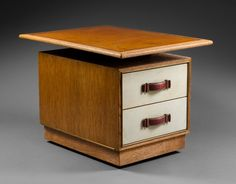 Art Deco Furniture, Nightstands, Filing Cabinet, Beach House, Drawers, Tables, Bronze, Storage, Red