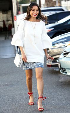 Jamie Chung from The Big Picture: Today's Hot Pics  The fashionista looks runway ready during an outing in Los Angeles.