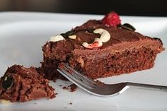 Torta de chocolate con cacao en polvo
