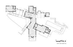Casa Santa Ynez / Fernau + Hartman Architects,Planta 01