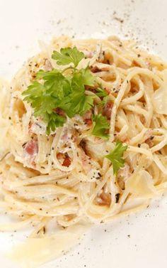 Original Spaghetti Carbonara Rezept und tolle andere nudelrezepte