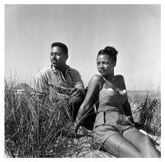 Dizzy and Lorraine Willis Gillespie.