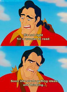 Beauty & the Beast! Oh Gaston lol!