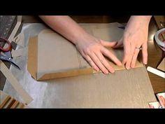Envelope Mini Album tutorial part 2 - YouTube