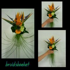 #Strelitzia #wedding #bouquet