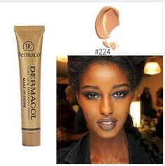 Dermacol 100% Original High Covering Makeup Foundation Hypoallergenic