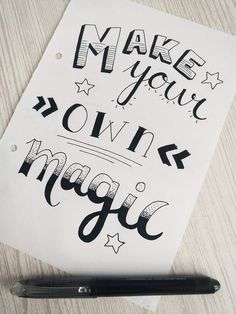 #handlettering Calligraphy Quotes Doodles, Brush Lettering Quotes, Doodle Quotes, Doodle Lettering, Hand Lettering Quotes, Bullet Journal Cover Ideas, Bullet Journal Quotes, Bullet Journal Lettering Ideas, Bullet Journal Writing