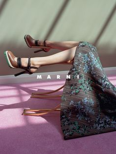 Marni Fall/Winter 2015 campaign photographed by Jackie Nickerson.