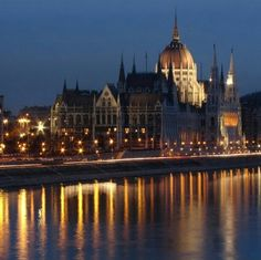 Hungarian Parlament, Budapest, Hungary — by Radu Vultur. The Hungarian Parliament, currently the largest building in Hungary. About one thousand people were involved in...