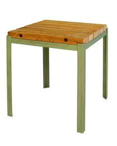 RECLAIMED WOOD OUTDOOR END TABLE   Recycled, Barn, Woods, Ends, Tables, Outdoor, Patio, Deck   UncommonGoods