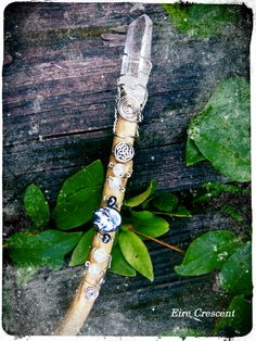 The Moon and Sea Goddess Willow Wand by EireCrescent on Etsy, $34.99 <--idea