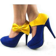 Ladies Black Blue Yellow Bow Ankle Strap Platform Shoes, 08885 Ever-Pretty, http://www.amazon.com/dp/B009Z9B6WI/ref=cm_sw_r_pi_dp_kv6irb0SBZX6Y