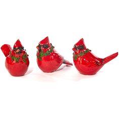 Holiday Home Decor - Cardinal