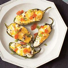 Grilled Stuffed Jalapeños | MyRecipes.com