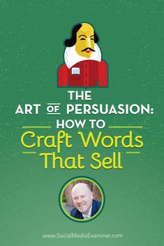 Want to sharpen your copywriting skills?  To explore the art of persuasion and why its important to social marketers, Michael Stelzner interview @rayedwards. Via @smexaminer